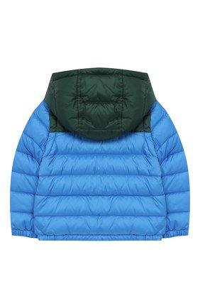 Детского куртка с капюшоном MONCLER ENFANT голубого цвета, арт. E1-951-41302-05-C0012 | Фото 2