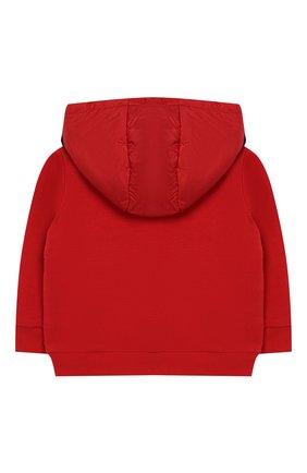 Детского куртка с капюшоном MONCLER ENFANT красного цвета, арт. E1-951-84161-05-809DK | Фото 2