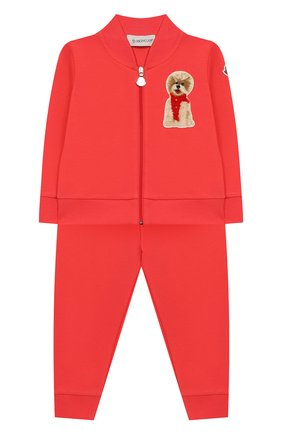Комплект из хлопкового кардигана и брюк | Фото №1