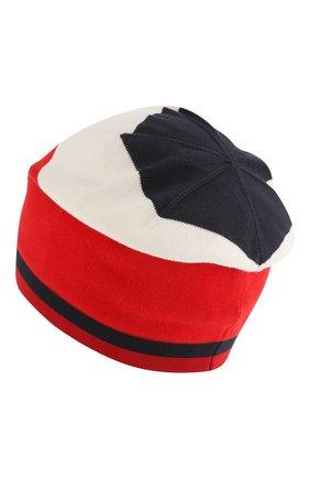 Детского хлопковая шапка MONCLER ENFANT синего цвета, арт. E1-954-99221-00-V9006 | Фото 2