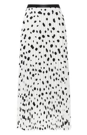 Плиссированная юбка с принтом   Фото №1