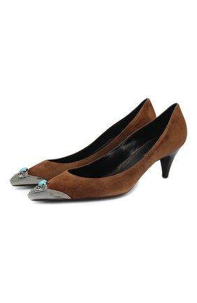Замшевые туфли Charlotte | Фото №1