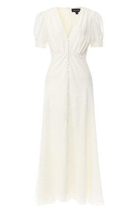 Шелковое платье-миди