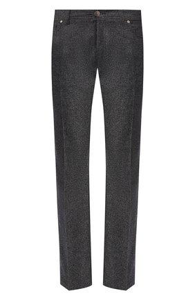 Мужской шерстяные брюки ANDREA CAMPAGNA серого цвета, арт. AC102/T70.5   Фото 1