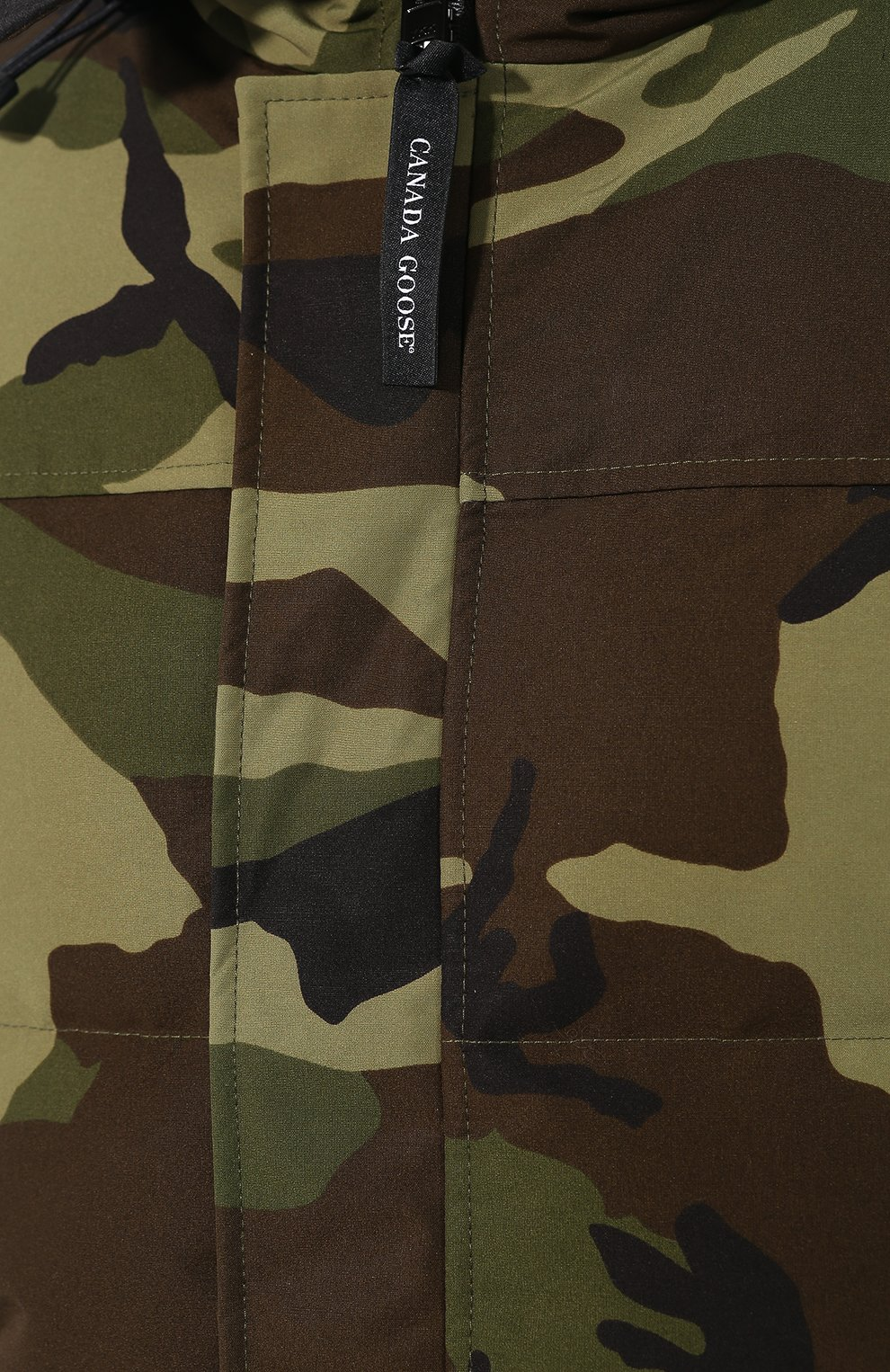 Мужская пуховая парка macmillan CANADA GOOSE хаки цвета, арт. 3804M | Фото 5