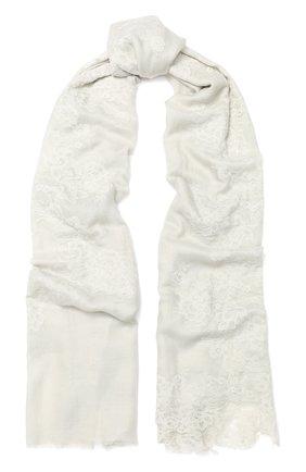 Шаль из смеси шелка и шерсти | Фото №1
