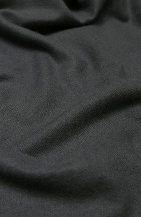 Женская кашемировая шаль VINTAGE SHADES темно-серого цвета, арт. 13267A   Фото 2