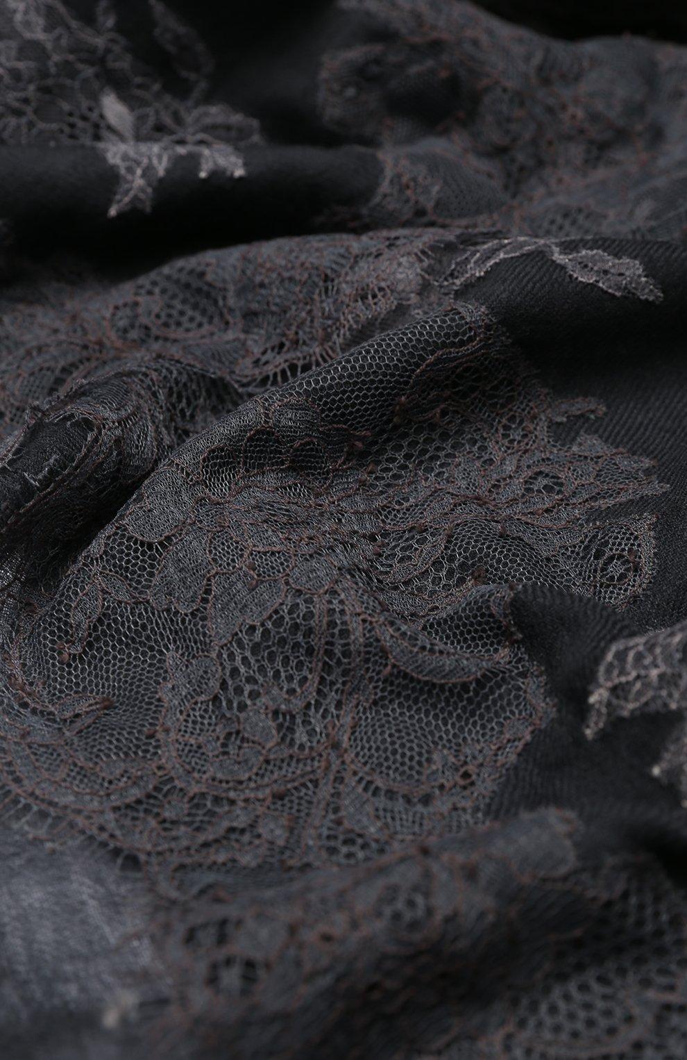 Шерстяная шаль   Фото №2