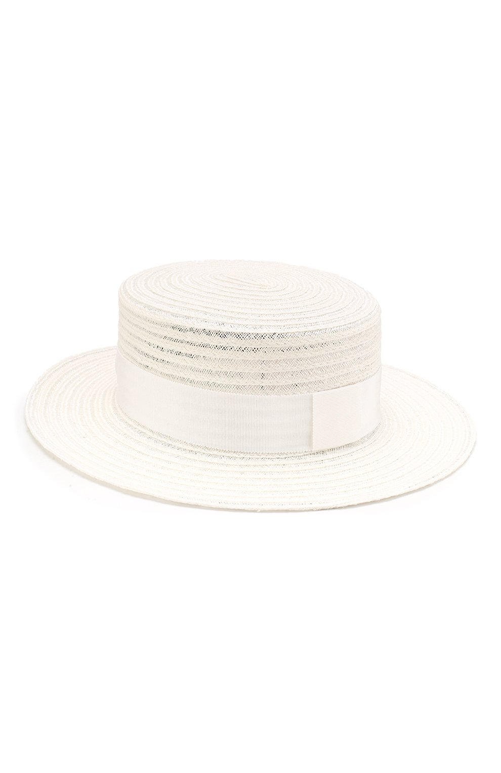 Соломенная шляпа Kiki Maison Michel белого цвета   Фото №2