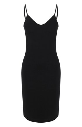 Женская хлопковая сорочка HANRO черного цвета, арт. 071346 | Фото 1