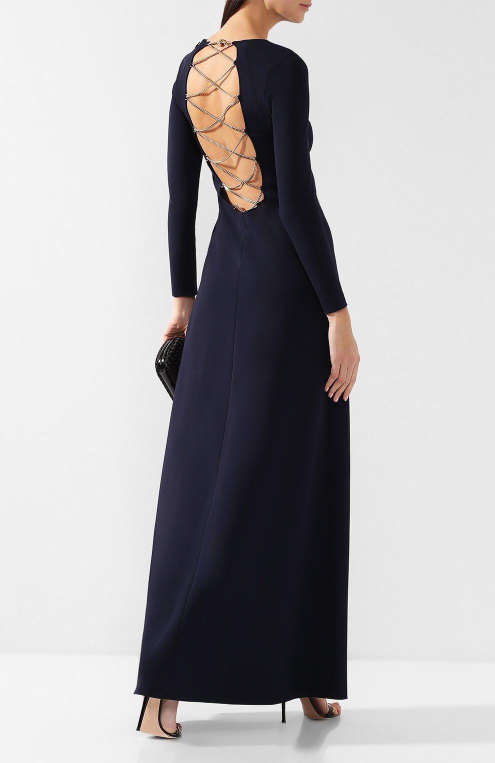 Платье-макси из вискозы | Фото №2