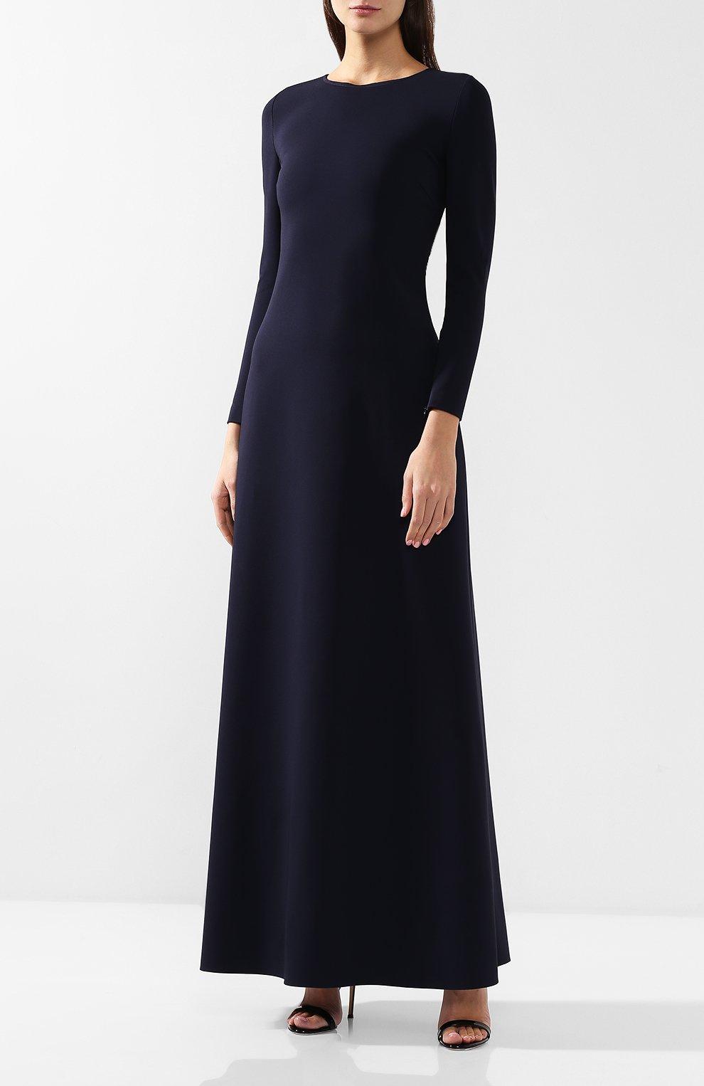 Платье-макси из вискозы | Фото №3