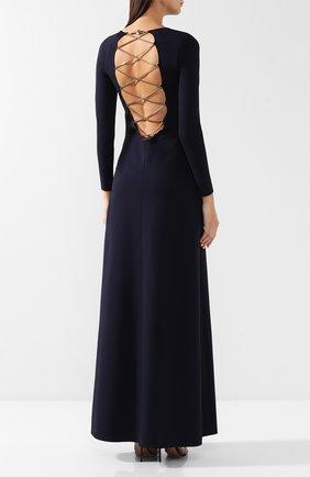 Платье-макси из вискозы | Фото №4