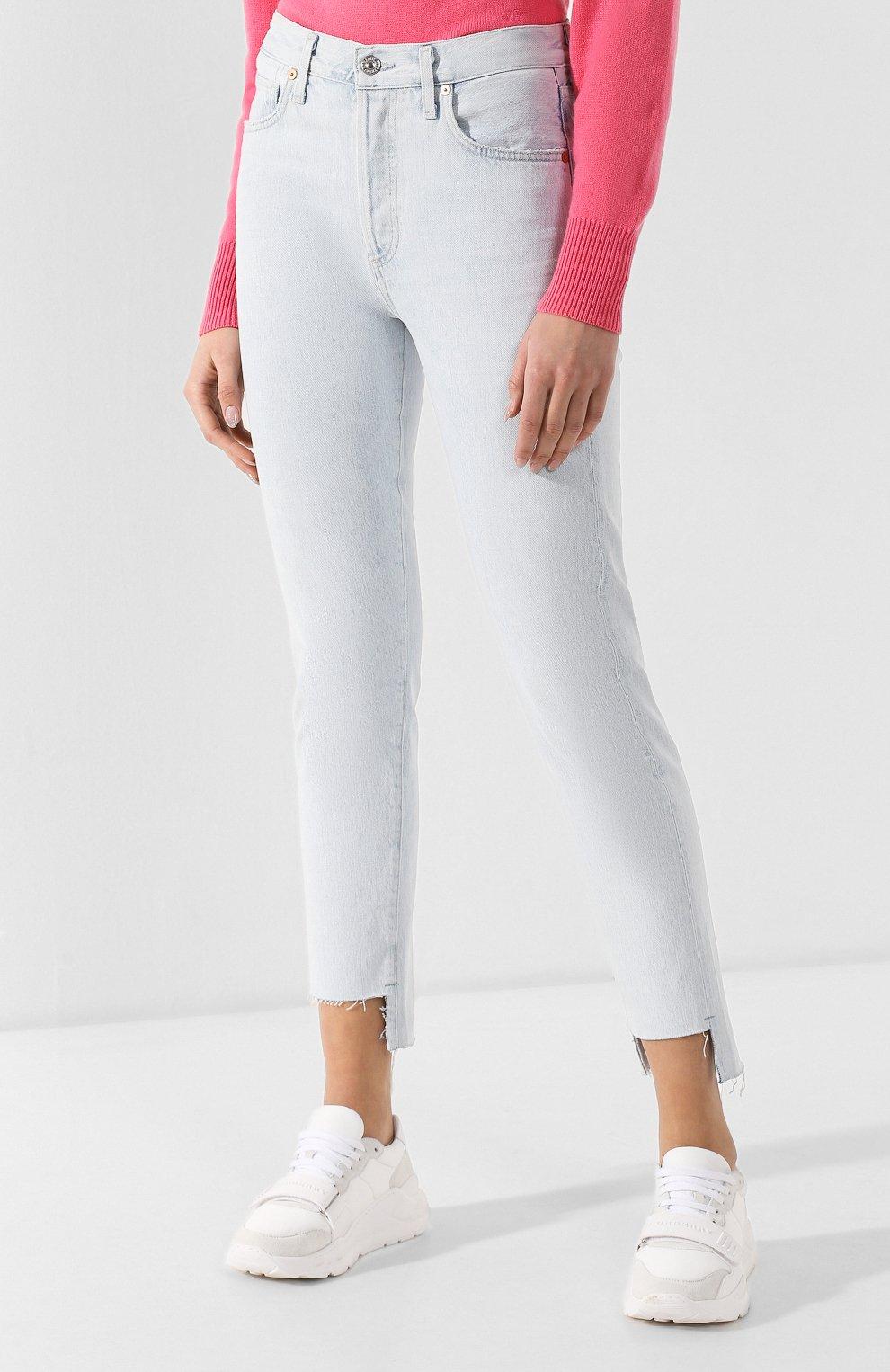 Укороченные джинсы | Фото №3