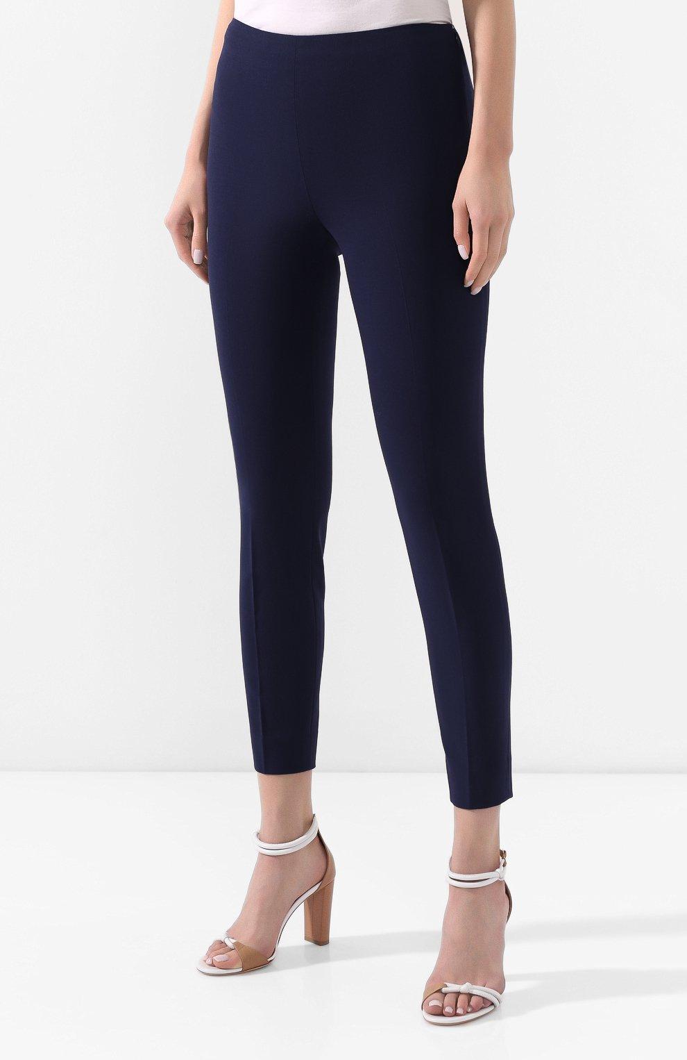 Шерстяные брюки со стрелками | Фото №3