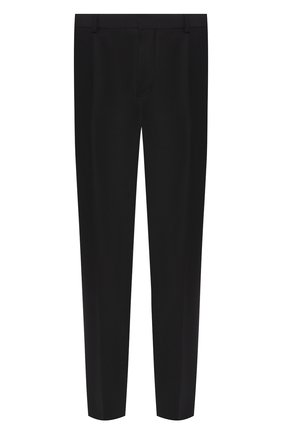 Мужской шерстяные брюки BOTTEGA VENETA черного цвета, арт. 545788/V0KK1 | Фото 1