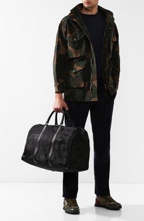 Текстильная дорожная сумка Valentino Garavani Jacquard Camouflage | Фото №2