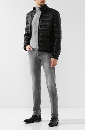 Мужские кожаные сапоги BERLUTI черного цвета, арт. S4628-001 | Фото 2