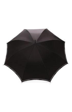 Мужской зонт-трость ALEXANDER MCQUEEN черно-белого цвета, арт. 557708/4A40Q | Фото 1