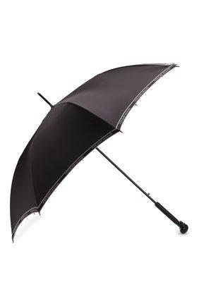 Мужской зонт-трость ALEXANDER MCQUEEN черно-белого цвета, арт. 557708/4A40Q | Фото 2