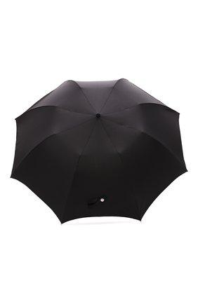 Мужской складной зонт ALEXANDER MCQUEEN черного цвета, арт. 557720/4A37Q | Фото 1