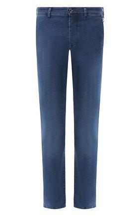 Мужские джинсы прямого кроя ZILLI синего цвета, арт. MCR-00041-DESA1/R001 | Фото 1