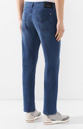 Мужские джинсы прямого кроя ZILLI синего цвета, арт. MCR-00041-DESA1/R001 | Фото 4