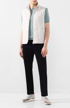 Мужские текстильные кроссовки 360 lp walk LORO PIANA светло-серого цвета, арт. FAI1540 | Фото 2