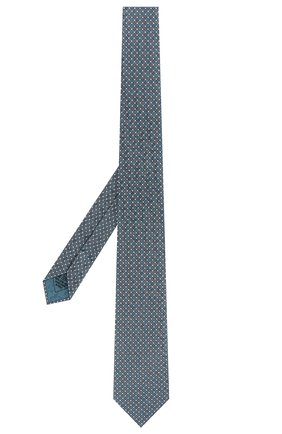 Мужской комплект из галстука и платка BRIONI бирюзового цвета, арт. 08A900/P841K | Фото 2