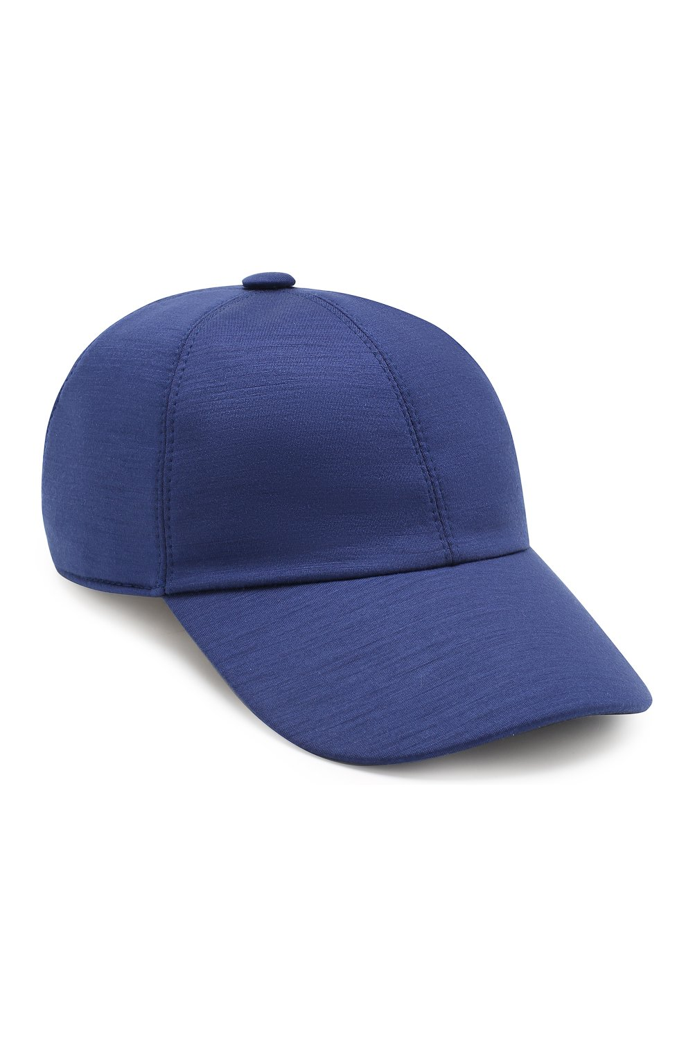Мужской шерстяная бейсболка Z ZEGNA синего цвета, арт. Z4I60/B2A | Фото 1