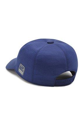 Мужской шерстяная бейсболка Z ZEGNA синего цвета, арт. Z4I60/B2A | Фото 2
