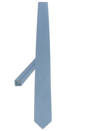 Мужской шелковый галстук BRIONI бирюзового цвета, арт. 062I00/P8438 | Фото 2