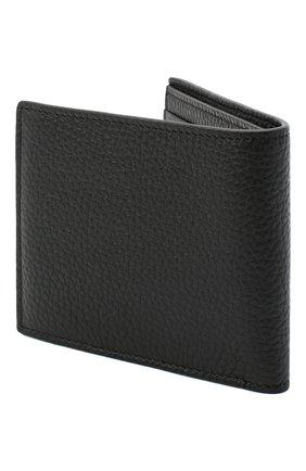 Мужской кожаное портмоне TOM FORD черного цвета, арт. Y0228T-CP9 | Фото 2