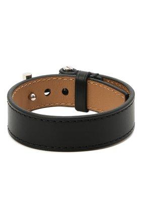 Мужской кожаный браслет TOM FORD черного цвета, арт. JM0002T-CALBR   Фото 2