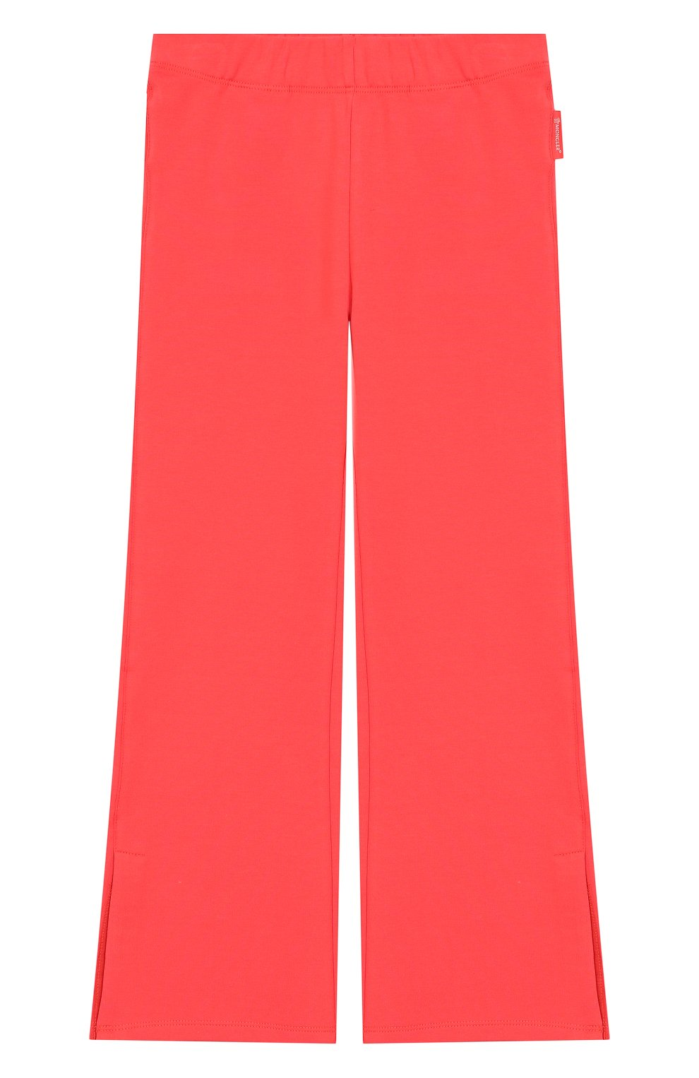 Комплект из хлопкового кардигана и брюк Moncler Enfant розового цвета | Фото №3