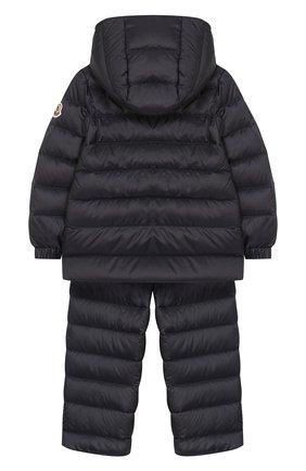 Детский комплект из куртки и комбинезона MONCLER ENFANT синего цвета, арт. E1-951-70340-05-53048 | Фото 2