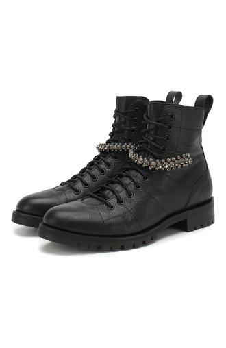 Кожаные ботинки Cruz Flat