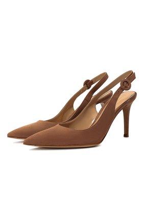 Замшевые туфли Anna | Фото №1