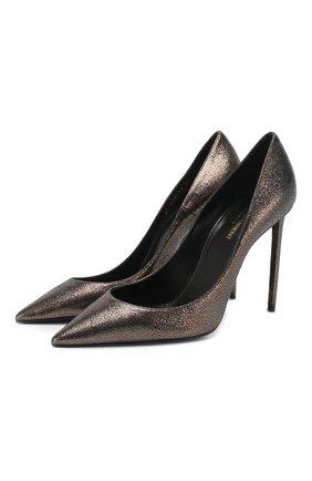 Кожаные туфли Zoe | Фото №1