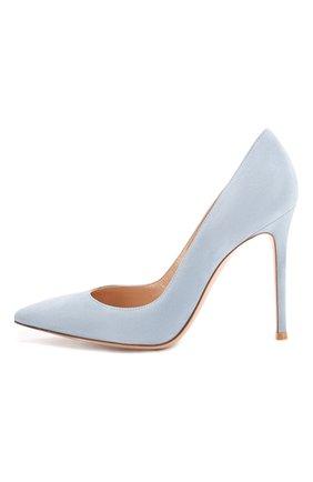 Замшевые туфли Gianvito 105 | Фото №3
