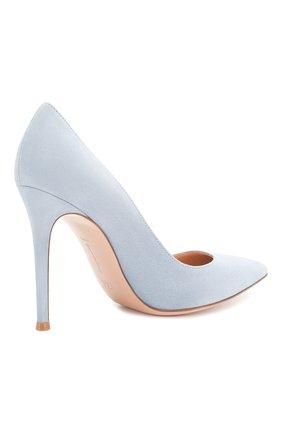Замшевые туфли Gianvito 105 | Фото №4