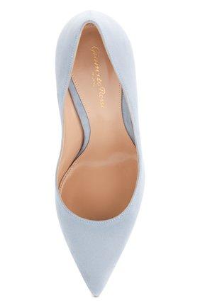 Замшевые туфли Gianvito 105 | Фото №5