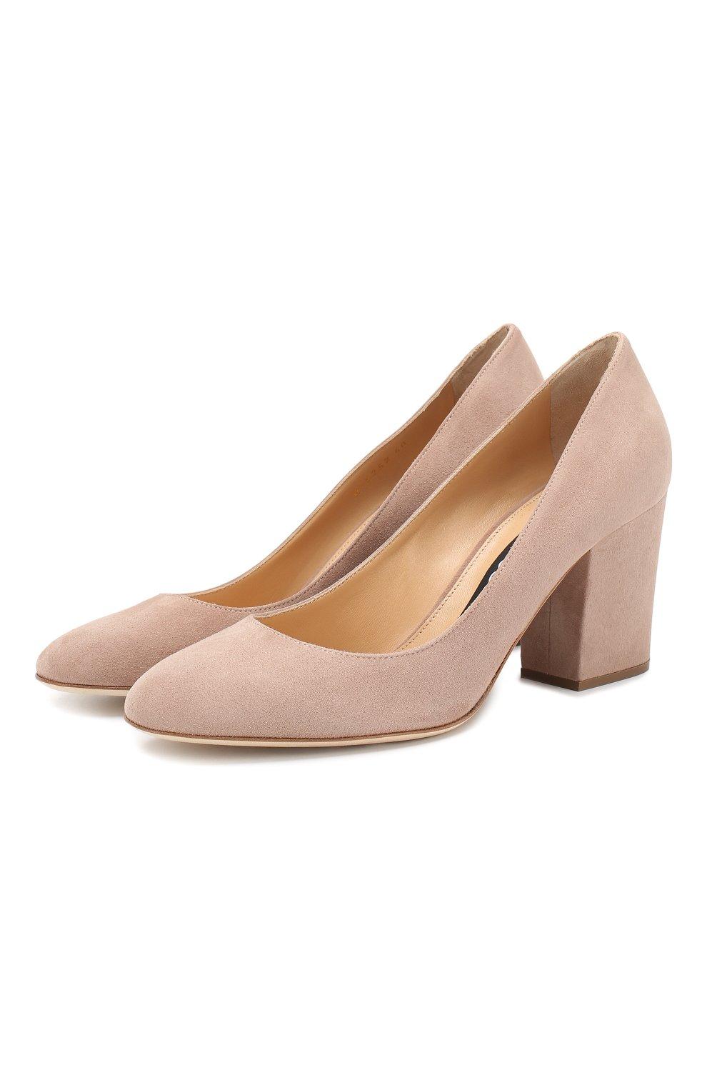 Замшевые туфли Virginia | Фото №1
