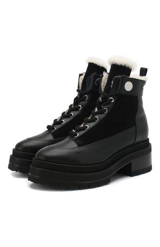 Кожаные ботинки Penny с внутренней отделкой из овчины