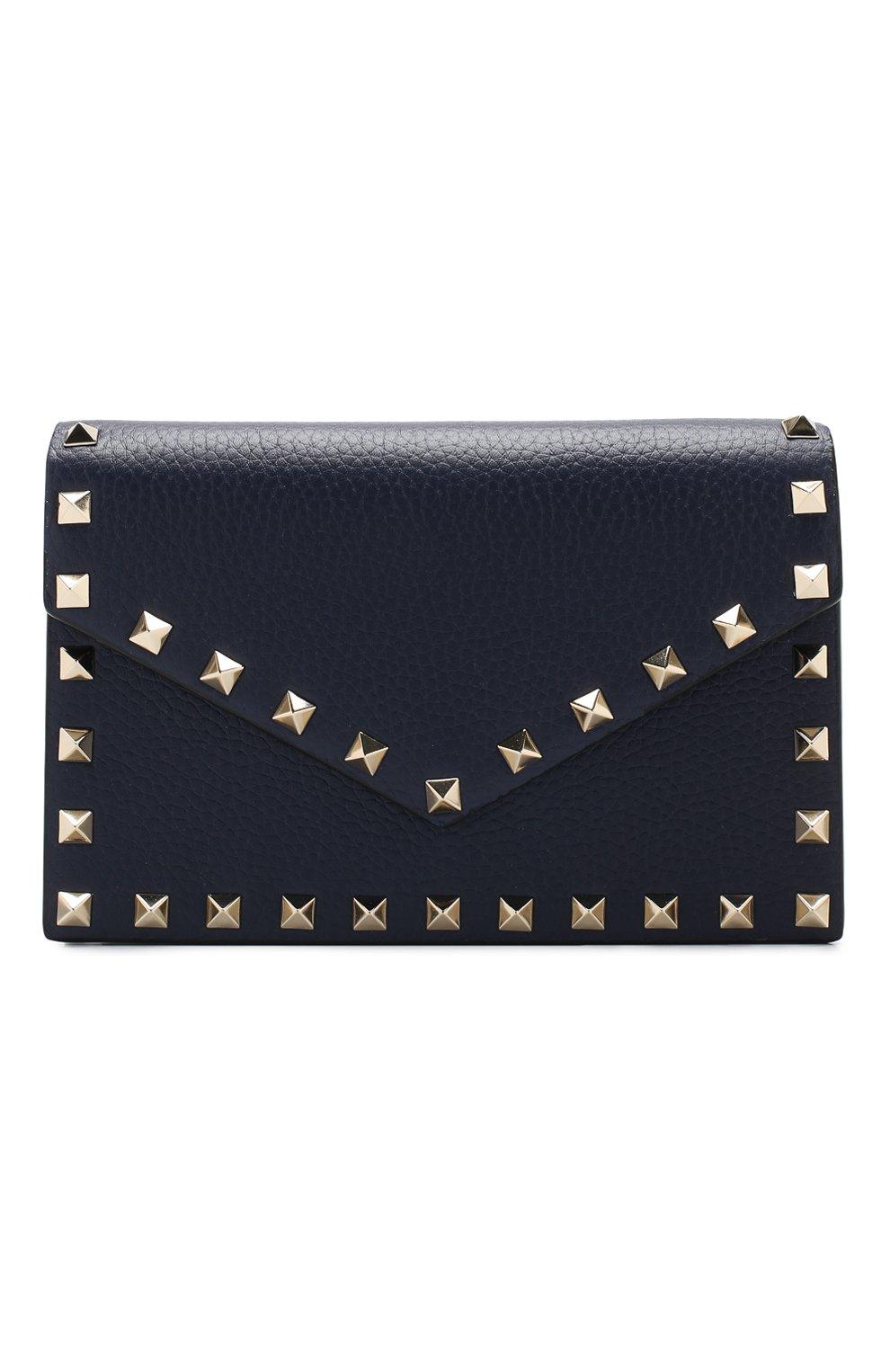 d49c9975e920 Женская сумка valentino garavani rockstud envelope VALENTINO темно ...
