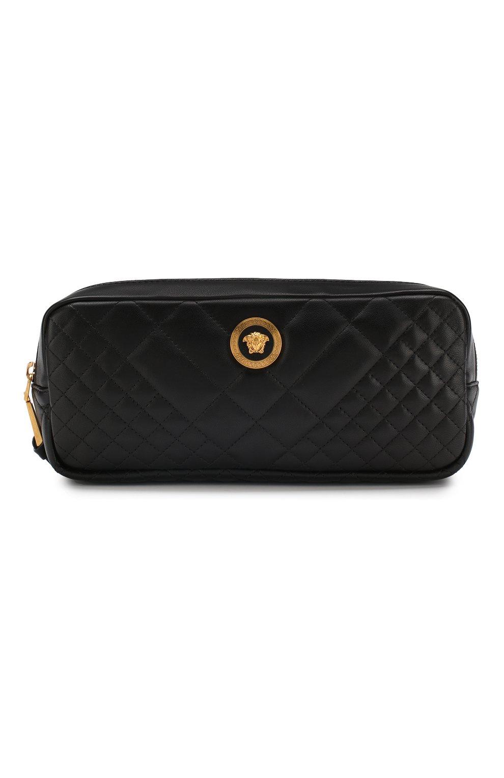 Поясная сумка Medusa Versace черная | Фото №1