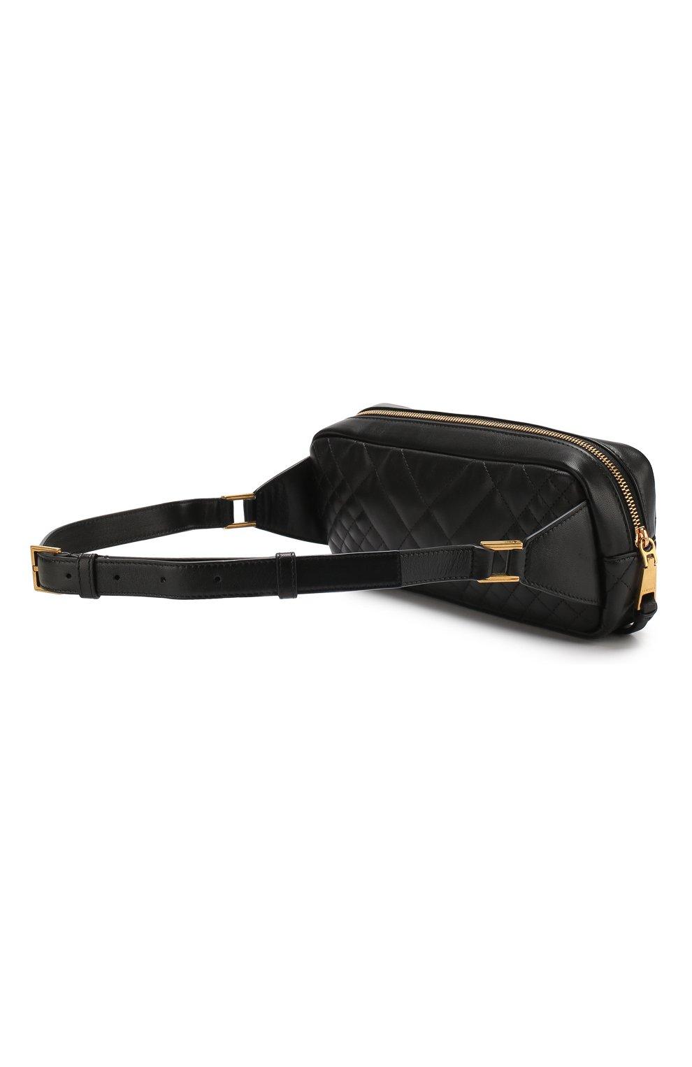 Поясная сумка Medusa Versace черная | Фото №3