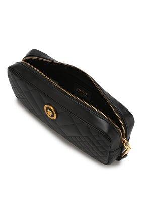 Поясная сумка Medusa Versace черная | Фото №4