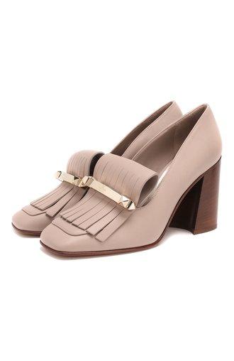 Кожаные туфли Valentino Garavani Uptown