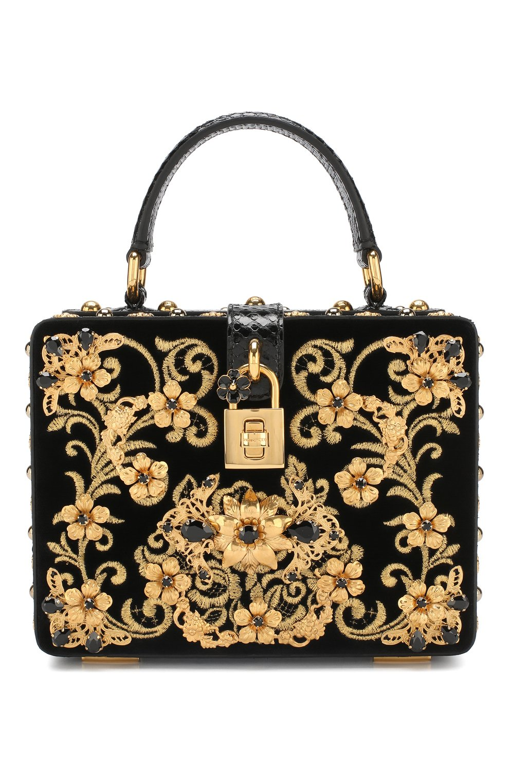 Сумка Dolce Box Dolce & Gabbana черного цвета   Фото №1